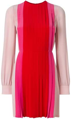 Valentino pleated panel dress