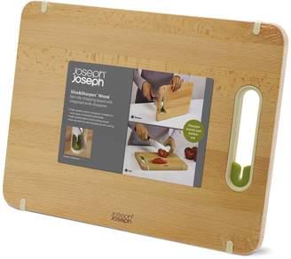 Joseph Joseph Slice & Sharpen Large Wooden Chopping Board