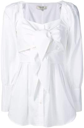 Sea ties detail blouse
