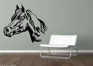 Mural Horse Wall Sticker Art Decal Transfer Kids Stencil Vinyl Wall Decoration WSD706