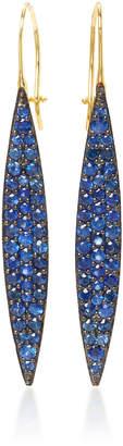 Ila Odette 14K Gold Sapphire Earrings
