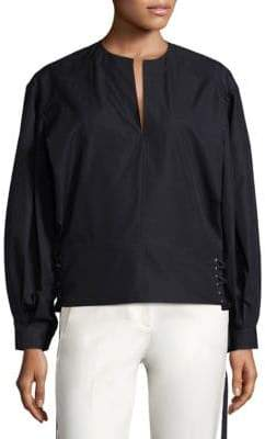 Derek Lam Cotton Poplin Top