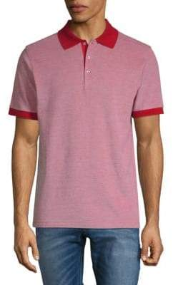 Stampd Heathered Cotton Polo