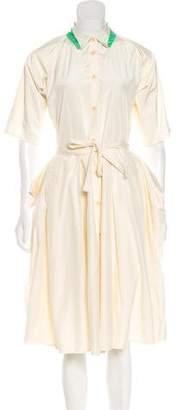 Bottega Veneta Midi A-Line Dress