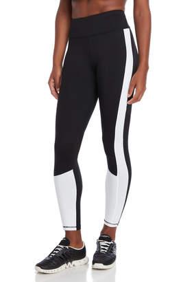 DKNY Black Racer Stripe Leggings