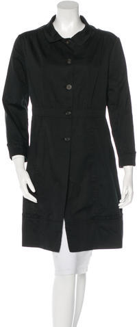 Miu Miu Miu Miu Knee-Length Trench Coat