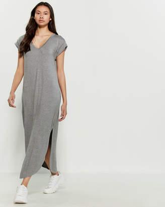 Jolie V-Neck T-Shirt Maxi Dress