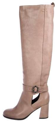 Schumacher Dorothee Leather Over-The-Knee Boots