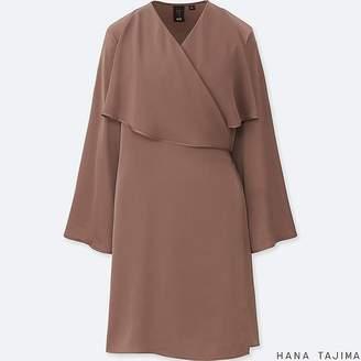 Uniqlo Women's Hpj Wrap Long-sleeve Tunic