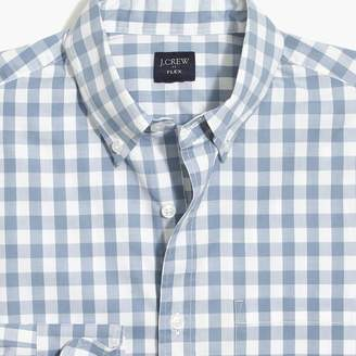 J.Crew Factory Slim-fit flex washed shirt in medium gingham