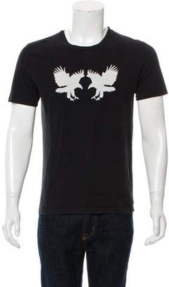 Christian Dior 2005 Double Eagle Graphic T-Shirt