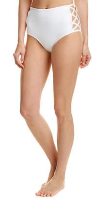 Norma Kamali High-Waist Bikini Bottom