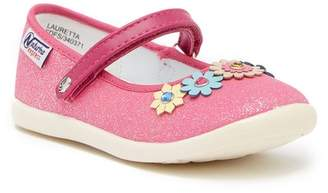 Naturino Express Lauretta Floral Embellished Mary Jane Flat (Toddler & Little Kid)