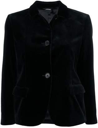 Aspesi velvet single breasted blazer