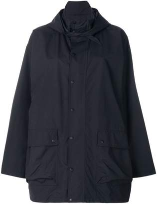 Balenciaga oversized raincoat