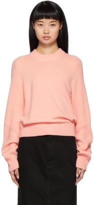 Rag & Bone Pink Cashmere Logan Crewneck Sweater