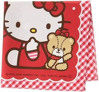 Hello Kitty (ハロー キティ) - 丸眞 ハローキティ 「ストロベリーレッド」 3065000600 大判ハンカチーフ