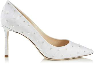 Jimmy Choo Romy 85 Pearlescent Pumps