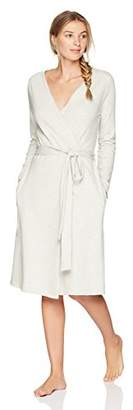 The Slumber Project Women's Long Cotton Bath Robe