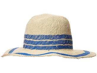 San Diego Hat Company PBF7311OS Fedora w/ Pop Color Stripes