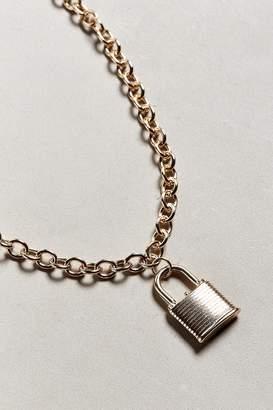 Riakoob Padlock Chain Necklace