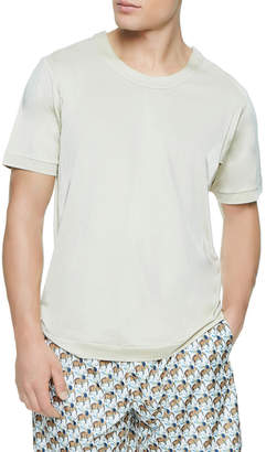 La Perla Solid Knit T-Shirt