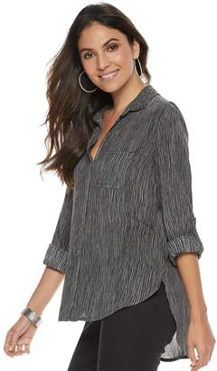 Rock & Republic Women's Twill Shirt