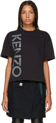 Kenzo Black Logo Sport Boxy T-Shirt
