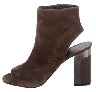 Vince Fenmore Peep-Toe Ankle Boots