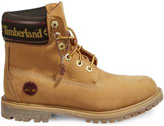 "Timberland ICON6"" Leather and Fabric Waterproof Boots"