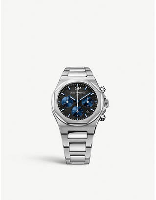 Girard Perregaux Girard-Perregaux 81020-11-631-11a Laureato stainless steel chronograph watch