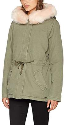Tom Tailor Women's Decorated Parka Jacket