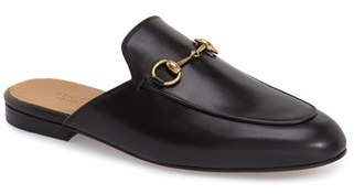 Gucci 'Princetown' Mule Loafer (Women) $595 thestylecure.com