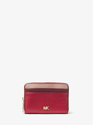 Michael Kors Small Tri-Color Pebbled Leather Wallet