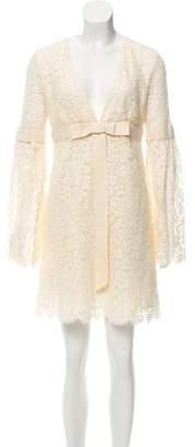 Michael Kors Lace Long Sleeve Dress
