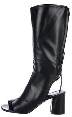 3.1 Phillip Lim Leather Mid-Calf Boots
