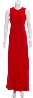 Melinda Eng Silk Maxi Dress