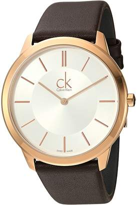Calvin Klein Minimal Watch - K3M216G6 Watches