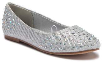 Tahari Metallic Ballet Flat (Little Kid)