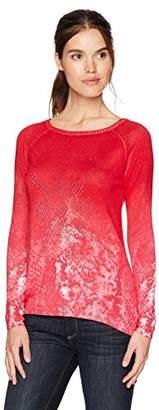 Desigual Women's Check Pullover Sweater