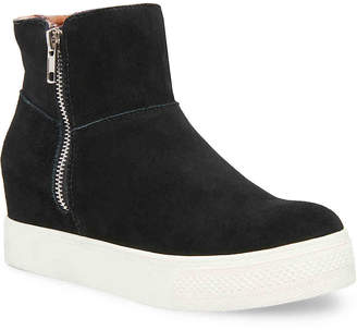 ce2d98322a1 Steve Madden Black Wedge Sneakers - ShopStyle