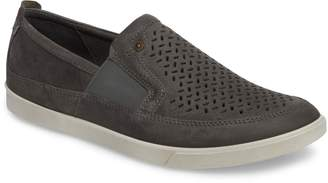 Ecco 'Collin' Perforated Slip On Sneaker