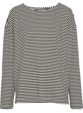 Current/Elliott The Breton Striped Jersey Top