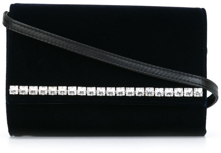 Giuseppe Zanotti Design crystal embellished shoulder bag