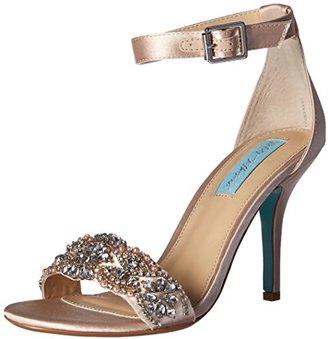 Blue by Betsey Johnson Women's Sb-Gina Dress Sandal $109 thestylecure.com