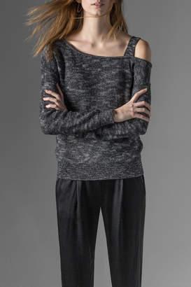 Lilla P One Shoulder Pullover