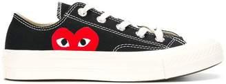Comme des Garcons logo print sneakers