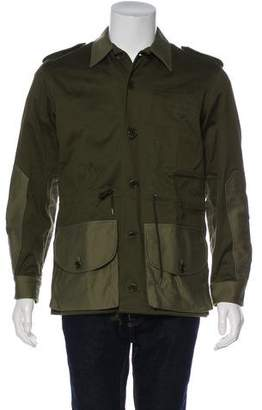 Ovadia & Sons Woven Military Jacket