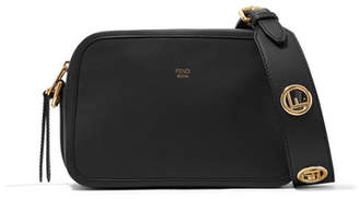 Fendi Leather Camera Bag - Black