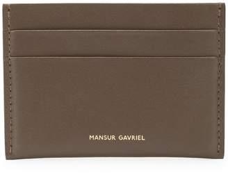 Mansur Gavriel logo cardholder
